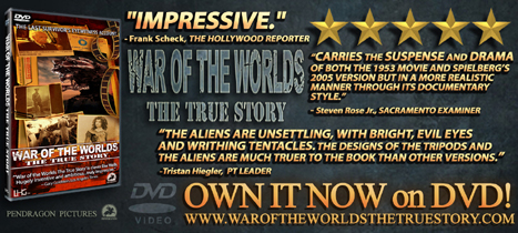 BUY WAR OF THE WORLDS THE TRUE STORY DVD HERE!